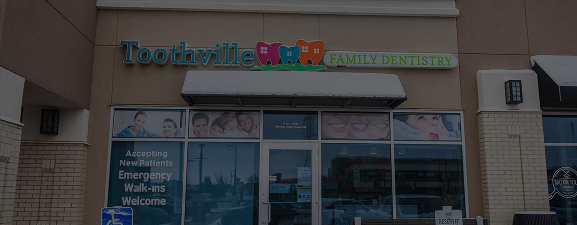Building Exterior | Toothville Family Dentistry | NW Calgary | General Dentist