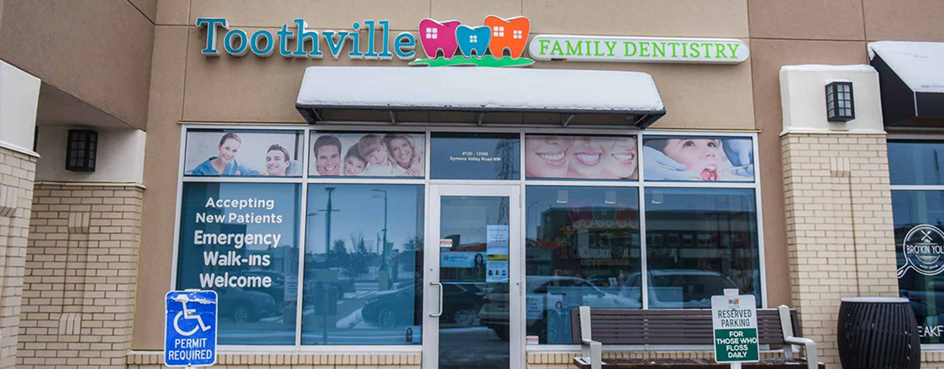 Building Front | Toothville Family Dentistry | NW Calgary | General Dentist