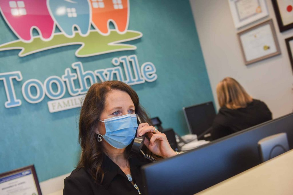 Helpful Reception Team | Toothville Family Dentistry | NW Calgary | General Dentist