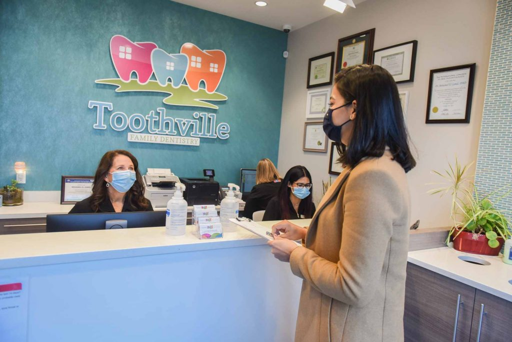 Reception Area | Toothville Family Dentistry | NW Calgary | General Dentist